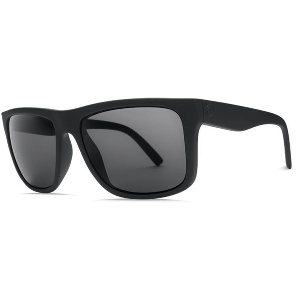 Electric Swingarm XL Sunglass Matte Black w/ OHM Grey - First Tracks Boardstore