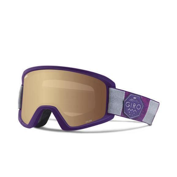 Giro Dylan Goggle Purple Division Amber Gold/Yellow || 2018 - First Tracks Boardstore
