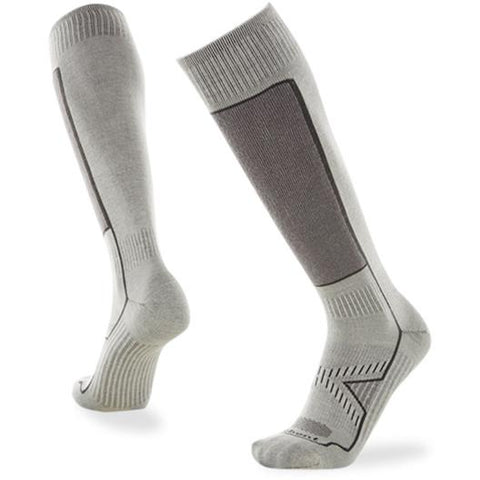 Le Bent Definitive Ultra Light Sock White/Grey - First Tracks Boardstore