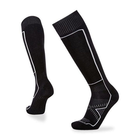 Le Bent Definitive Ultra Light Sock Black- First Tracks Boardstore