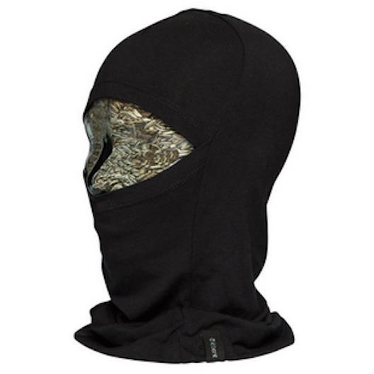 Le Bent Kids Definitive Balaclava Light 200gm Black - First Tracks Boardstore
