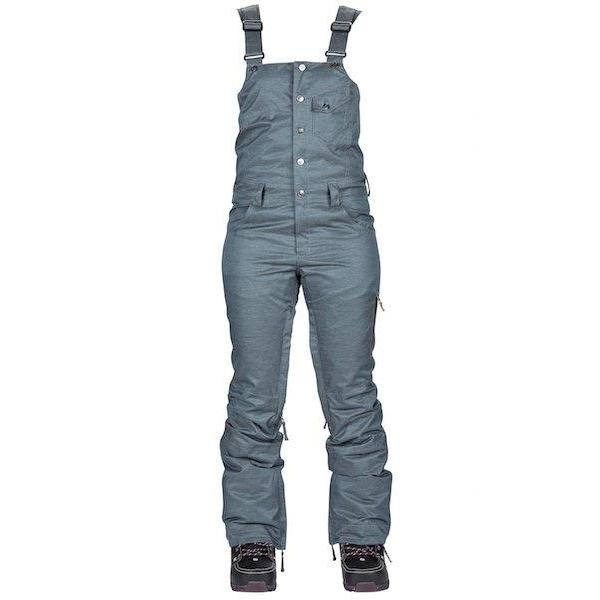 Nikita Wms Evergreen Denim Bib-Pant-Nikita-Blue Denim-S-