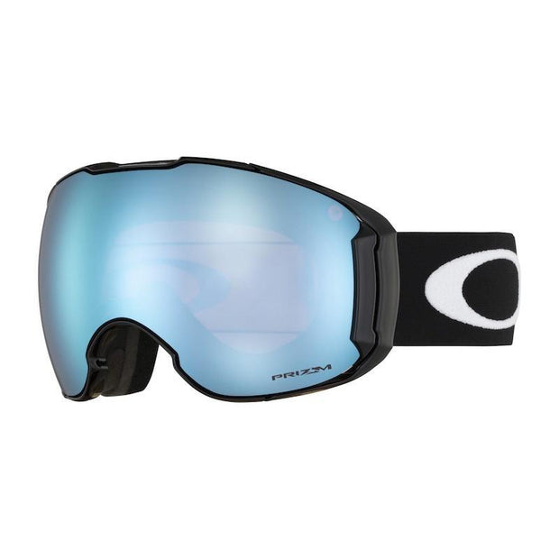 Oakley Airbrake XL Alt Fit Goggle, Matte Black w/ Prizm Sapphire - First tracks Boardstore