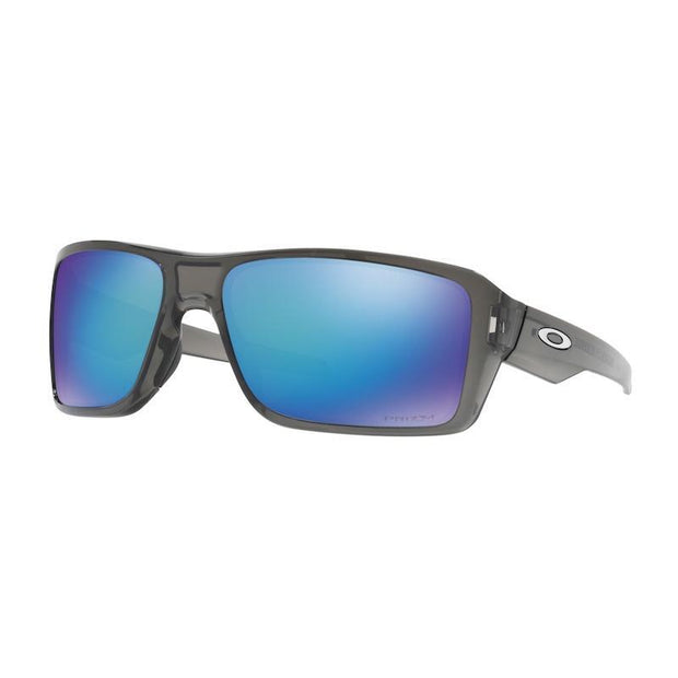 Oakley Double Edge Grey Smoke w/ Prizm Sapphire Polarised - First tracks Boardstore