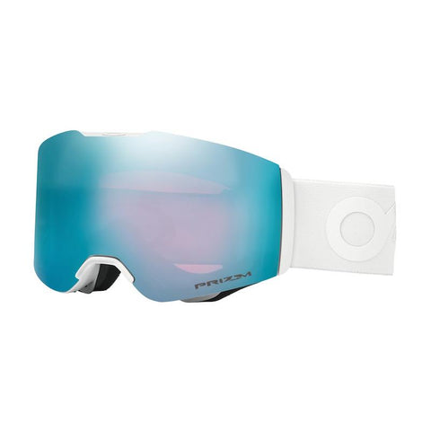 Oakley Fall Line Goggle Matte White w/ Prizm Sapphire - First Tracks Boardstore