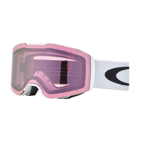 Oakley Fall Line Matte White W/ Prizm Hi Pink - First Tracks Boardstore