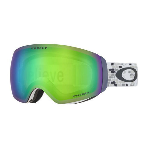 Oakley Flight Deck XM Goggle, LV Sig Brick Wall w/ Prizm Jade - First tracks Boardstore
