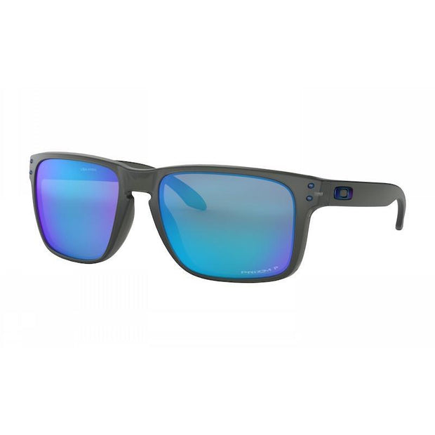 Oakley Holbrook XL Grey Smoke w/ Prizm Sapphire Polarised - First tracks Boardstore