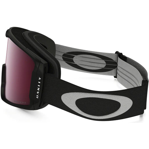 Oakley Line Miner Youth Goggle Matte Black w/ Prizm Rose - First tracks Boardstore