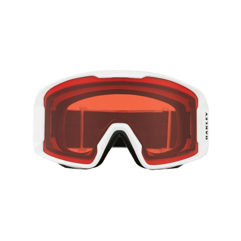 Oakley Line Miner Youth Goggle Matte White w/ Prizm Rose - First tracks Boardstore