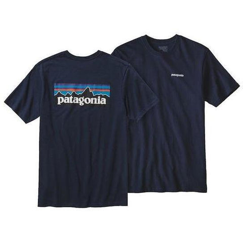 Patagonia P6 Logo Cotton Tee - First Tracks Boardstore