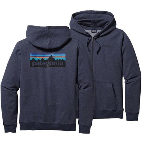 Patagonia P6 Logo MW Full-Zip Sweatshirt - First Tracks Boardstore