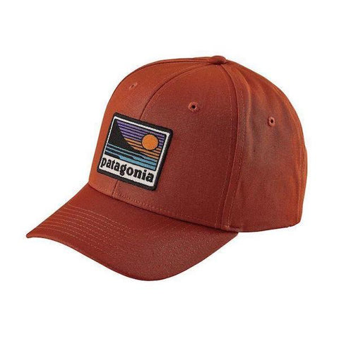 Patagonia Up & Out Roger That Hat- Burnt Orange - First Tracks Boardstore