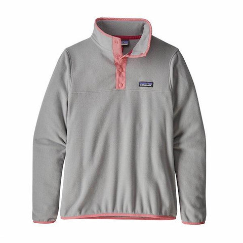 Patagonia Wms Micro D Snap-T Pull Over-Fleece-Patagonia-Drifter Grey-S-