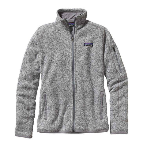 Patagonia Wms Better Sweater Jacket, Birch White - First Tracks Boardstore