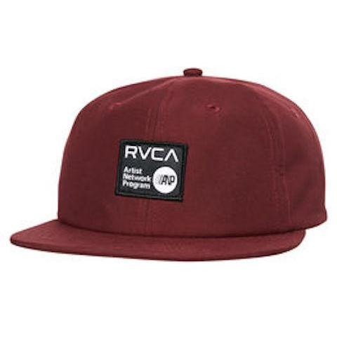 RVCA ANP 6 Panel Cap - Boredeaux - First Tracks Boardstore