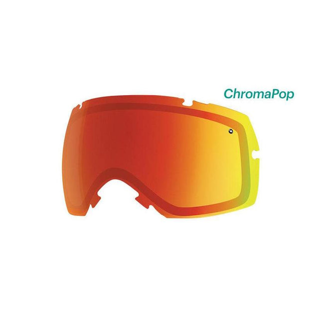 Smith I/OX Lens ChromaPop Everyday Red Mirror - First tracks Boardstore