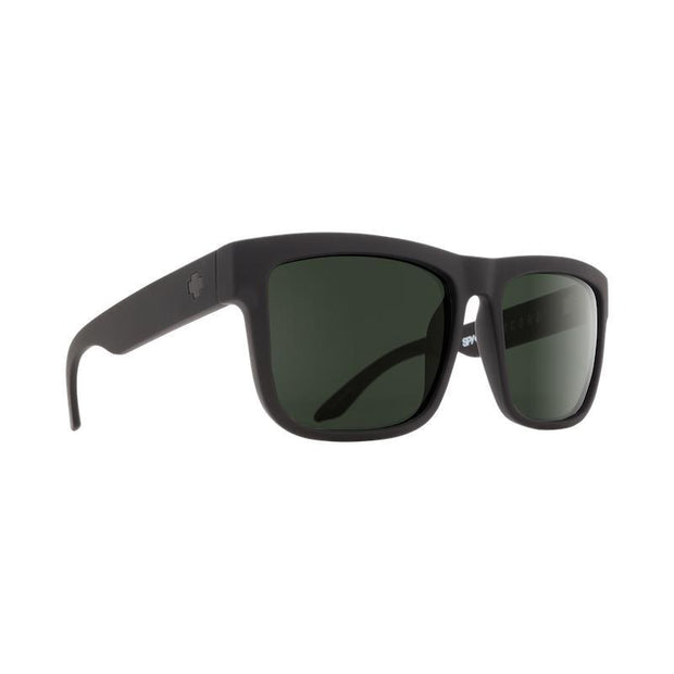 SPY Discord Sunglass, Soft Matte Black-Sunglasses-SPY-