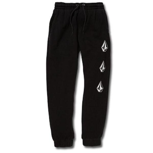 Volcom Boys Deadly Stones Track Pant-Trackpant-Volcom-Black-8-