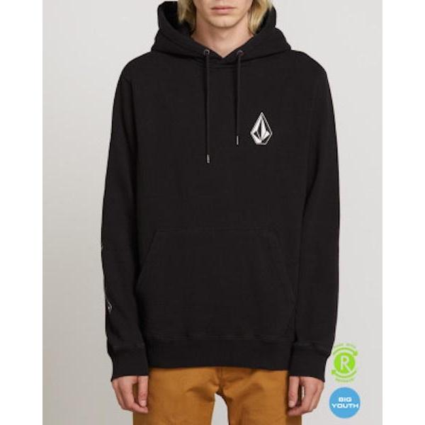 Volcom Deadly Stones Pullover-Hoodie-Volcom-Washed Black-S-
