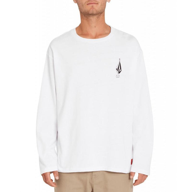 Volcom Loose Truck Long Sleeve-LS T-Shirt-Volcom-S-White-