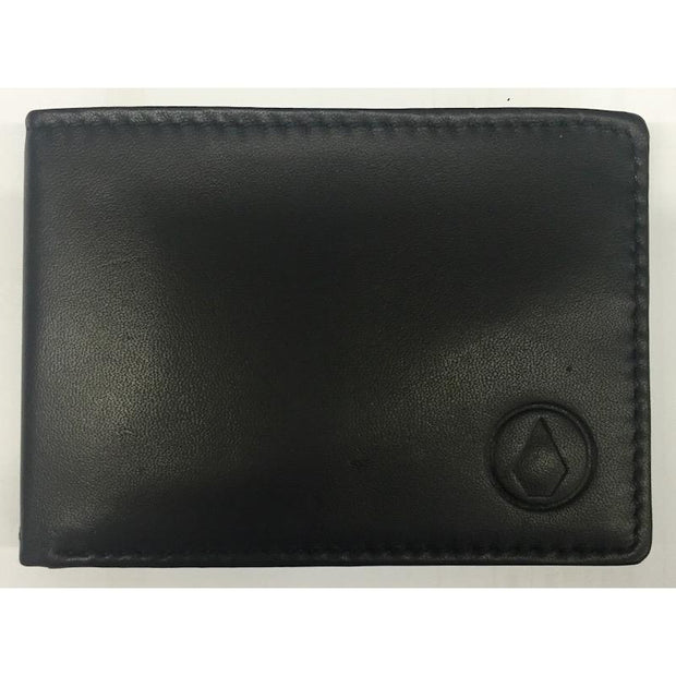 Volcom Minor Stone Leather Wallet - First Tracks Boardstore