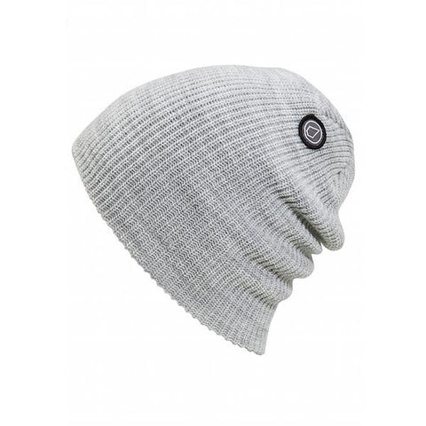 Volcom Power Beanie Heather Grey - First Tracks Boardstore