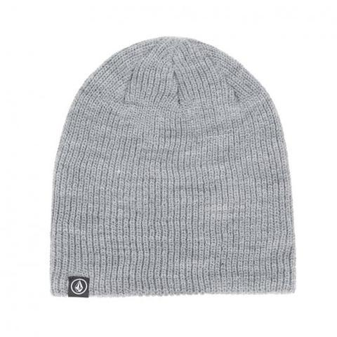Volcom Skull Stone Beanie - Cement - First Tracks Boardstore