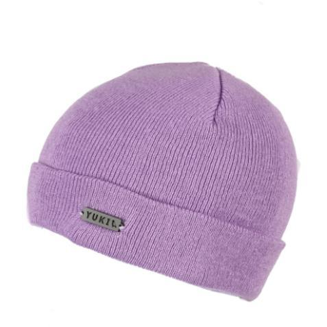 Yuki Threads Metallic Car Beanie, Dirty Lilac-Beanie-Yuki Threads-Default-