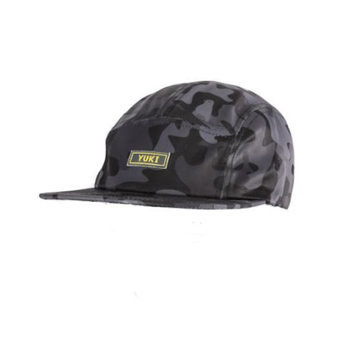 Yuki Threads Stiffler 5 Panel Cap, Camo-Cap-Yuki Threads-Default-