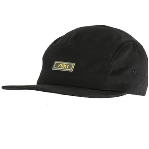 Yuki Threads Stiffler 5 Panel Cap-Cap-Yuki Threads-Black-