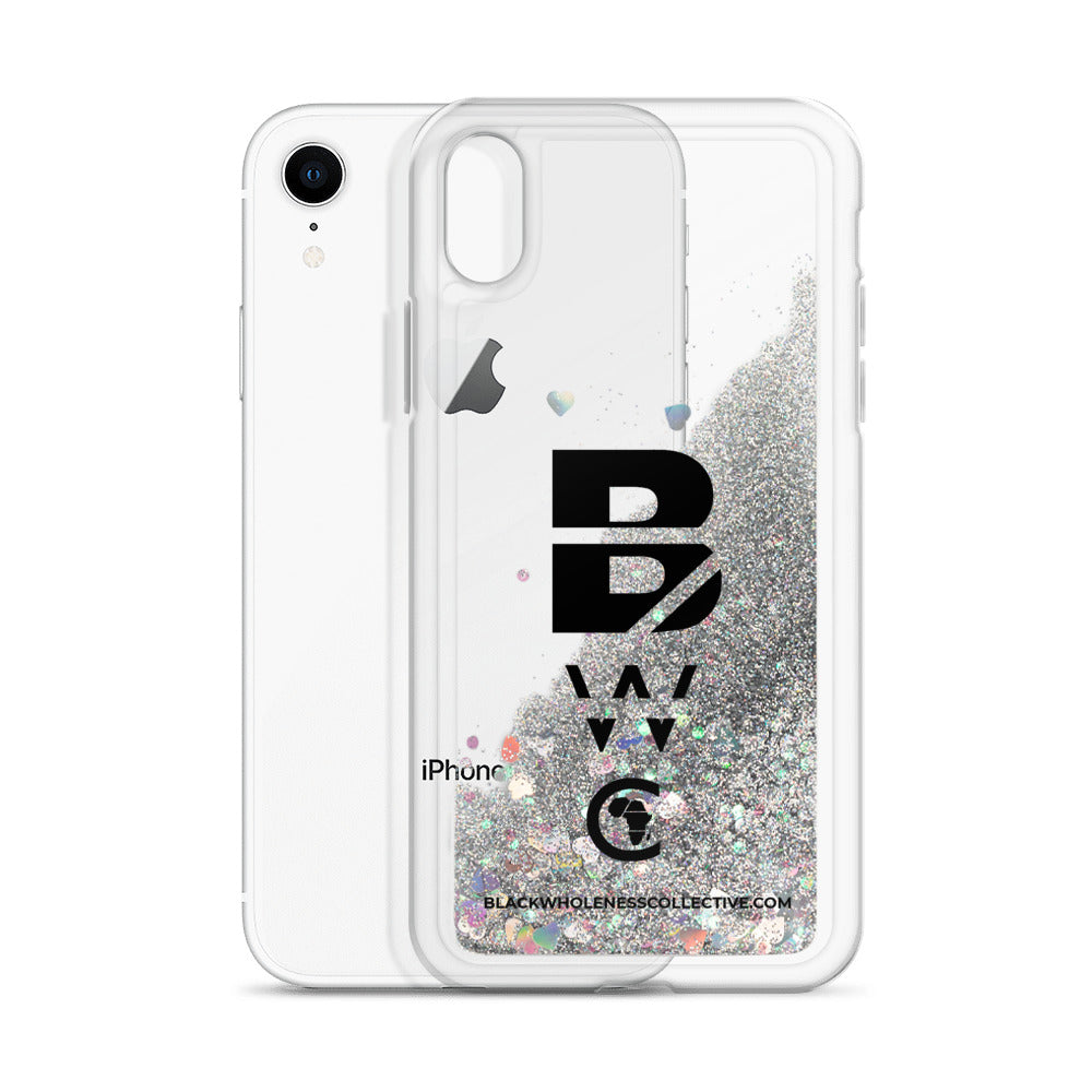 BWC LOGO Liquid Glitter iPhone Case