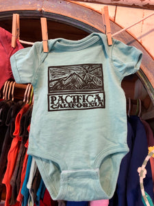 PACIFICA PEDRO POINT SUNSET BABY ONESIE