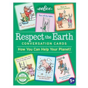 RESPECT THE EARTH CONVERSATION CARDS