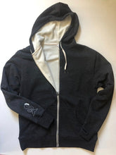 Load image into Gallery viewer, SHERPA LINED ZIP UP HOODIE