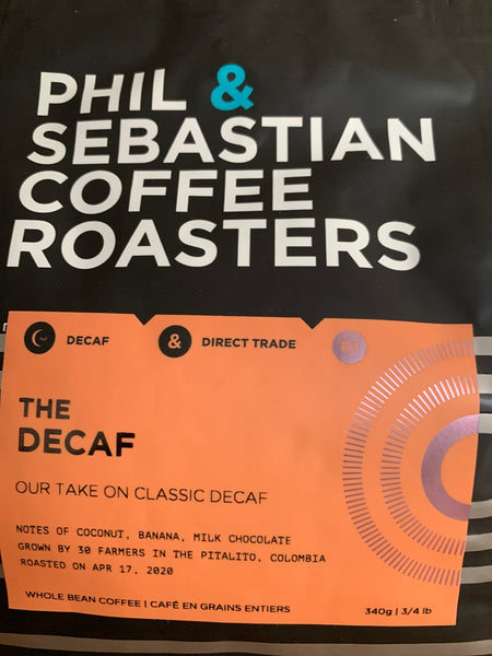 12 OZ PHIL AND SEBASTIAN DECAF