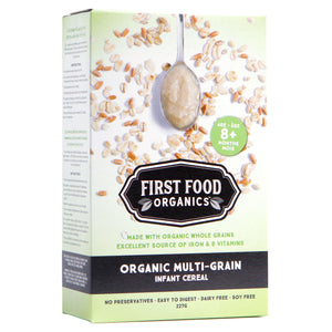 Organic Multigrain Infant Cereal - 227g