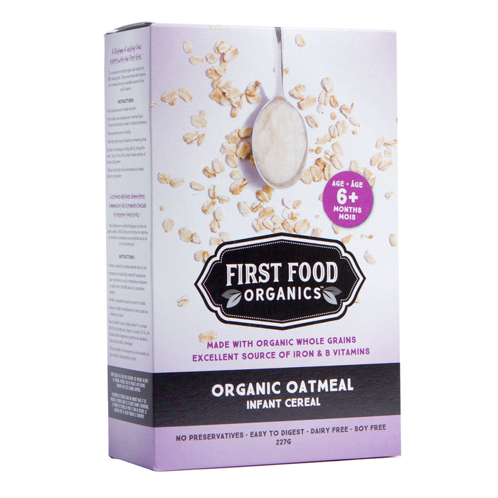 Organic Oatmeal Infant Cereal - 227g