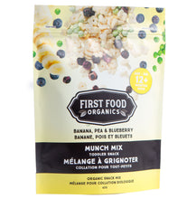 Load image into Gallery viewer, Organic Munch Mix - Banana Pea & Blueberry 42g