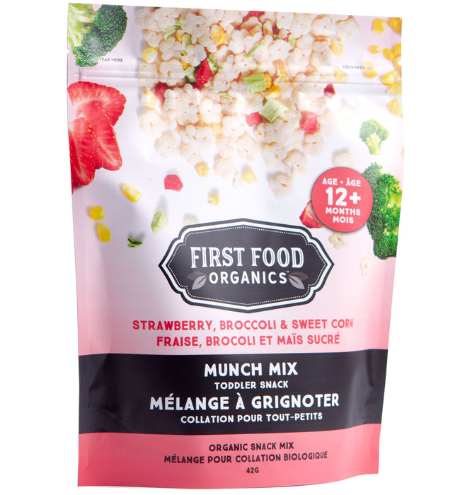 Organic Munch Mix - Strawberry Broccoli & Sweet Corn 42g