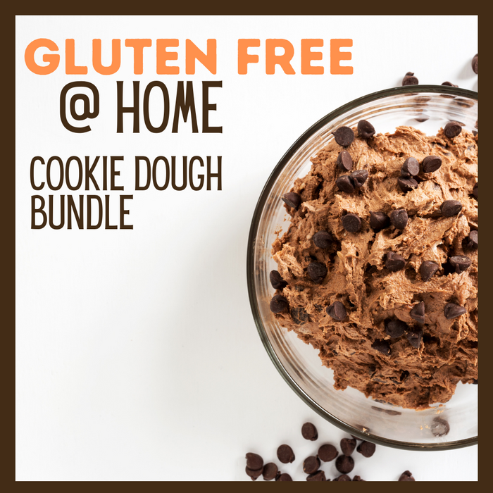 Gluten Free @ Home Cookie Dough Bundle - 454g x 4 **GTA ONLY**