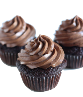 Chocolate Cupcake Clamshell - 6 pack **GTA ONLY**