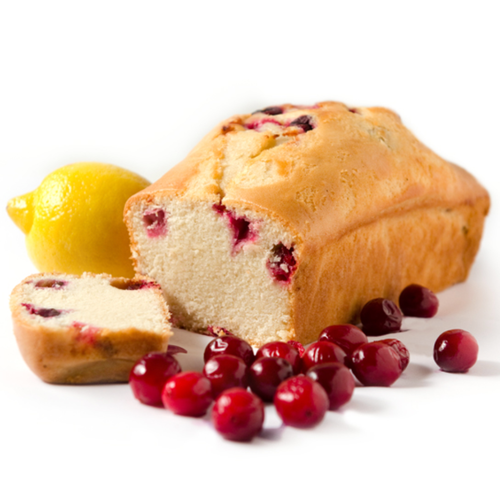 Lemon Cranberry Loaf - 700g