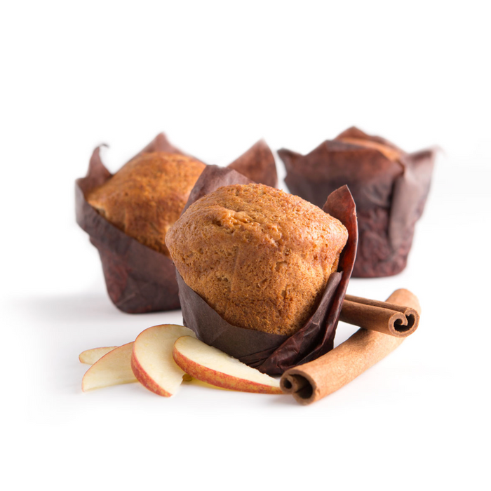 Gluten Free Apple Cinnamon Muffins - 140g x 6 **GTA ONLY**