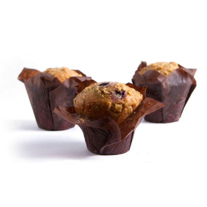 Blueberry Streusel Muffins - 140g x 6 **GTA ONLY**