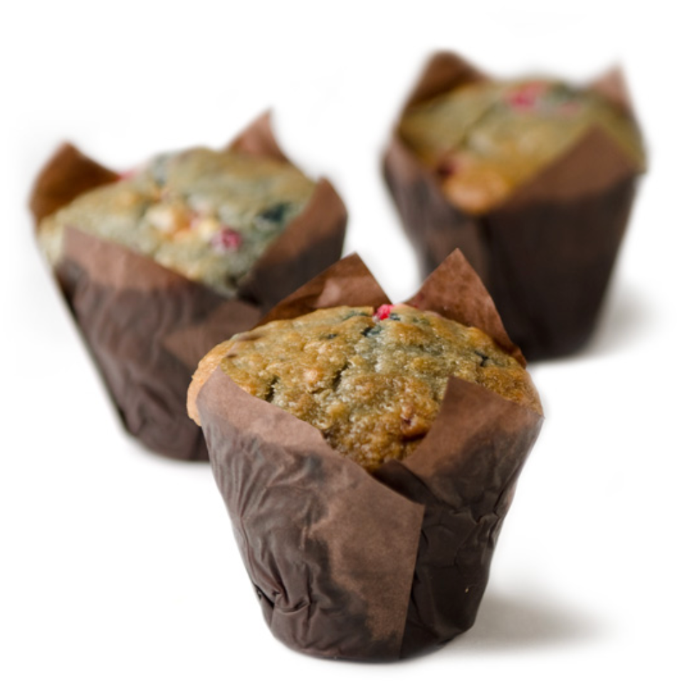 Mixed Berry Muffins - 140g x 6 **GTA ONLY**