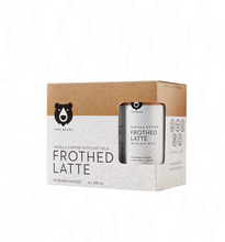 Load image into Gallery viewer, Two Bears Frothed Vanilla Oat Milk Latte - 250ml 6 pack