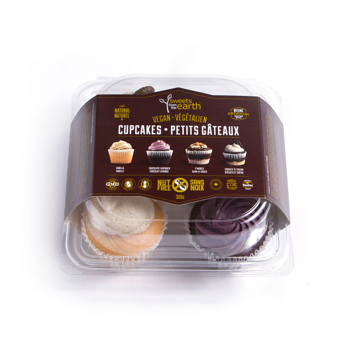 Assorted Cupcake 4-pack - 320g **GTA ONLY**