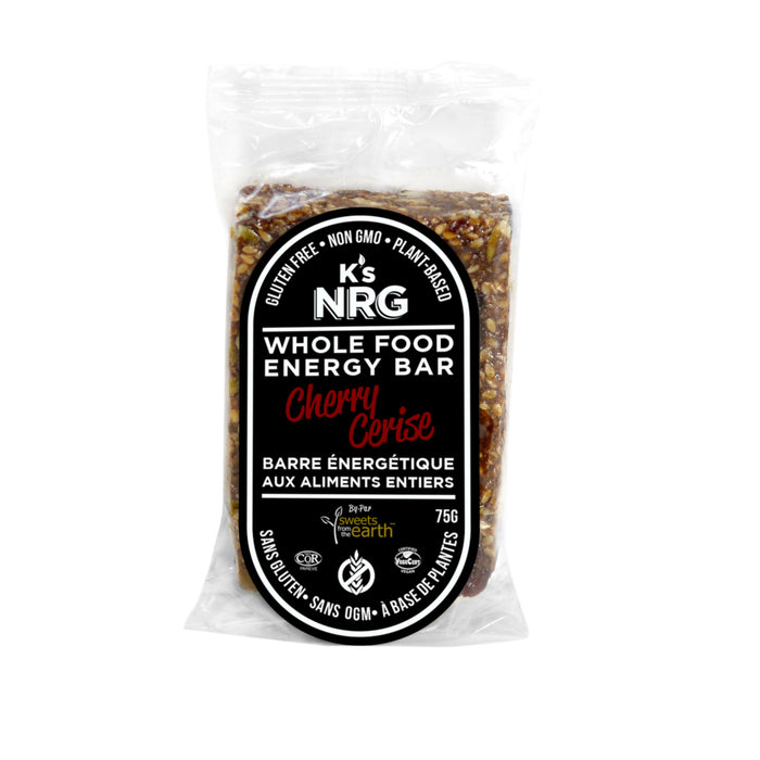 K's NRG Whole Food Energy Bars Cherry - 75g x 6 pack