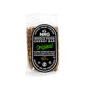 K's NRG Whole Food Energy Bars Original - 75g x 6 pack